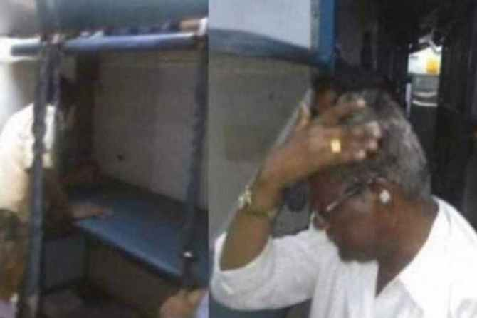 tambaram - nagercoil express train, train mishap, train berth accident, passenger, injures, madurai, madurai railway station, first aid box, complaint, railway police, railway department