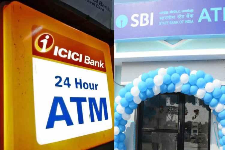 SBI,SBI cardless cash withdrawal facility,ICICI Bank,ICICI Bank cardless cash withdrawal facility,Cardless cash withdrawal through SBI ATM,Cardless cash withdrawal through ICICI Bank