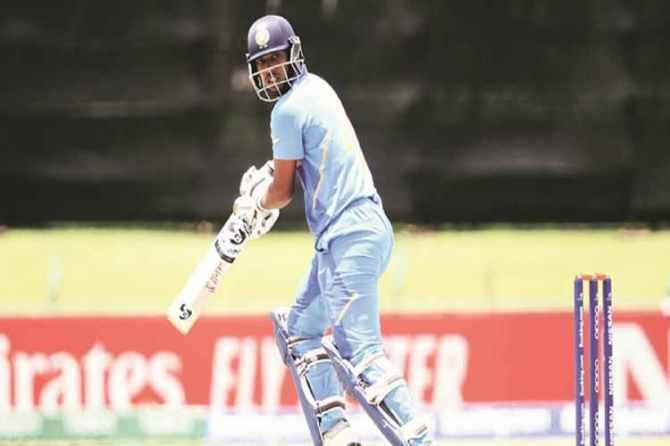 india u19 world cup, india vs australia, ind vs aus, Atharva Ankolekar, Atharva Ankolekar batting, Atharva Ankolekar vs australia, under 19 world cup news, kartik tyagi, cricket news