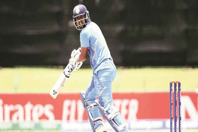 india u19 world cup, india vs australia, ind vs aus, Atharva Ankolekar, Atharva Ankolekar batting, Atharva Ankolekar vs australia, under 19 world cup news, kartik tyagi, cricket news