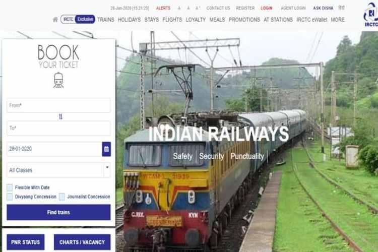 indian railways, railways, irctc, tickets, ticket booking, irctc tourism