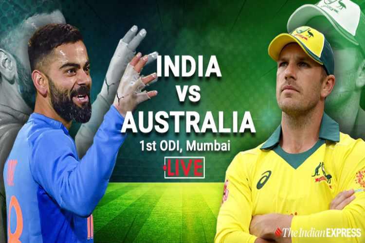 India vs Australia Live Score,