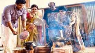 pongal. pongal2020, pongal celebration, rajinkanth, soundarya rajinikanth, kattil movie, shrusti donge, pongal , jallikattu, madurai,