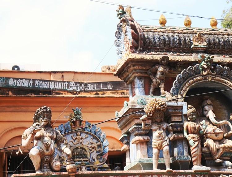 History of Chennai Sowkarpet Mint Street Photo Gallery