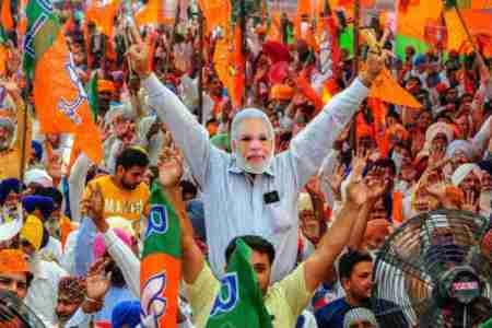 BJP Rally, CAA supporters
