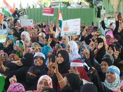 Anti CAA Protest : களத்தில் நிற்கும் சாமானிய பெண்கள்
