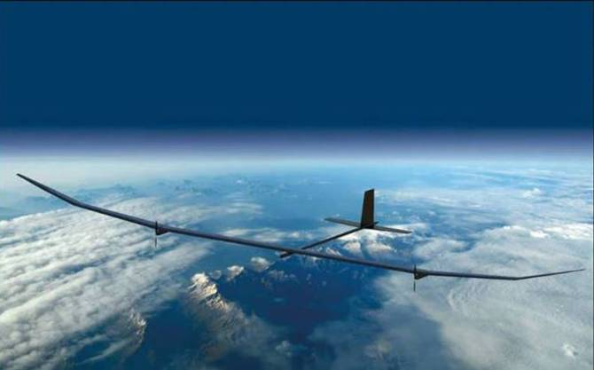 PHASA 35 Solar powered unmanned aircraft flies successfully