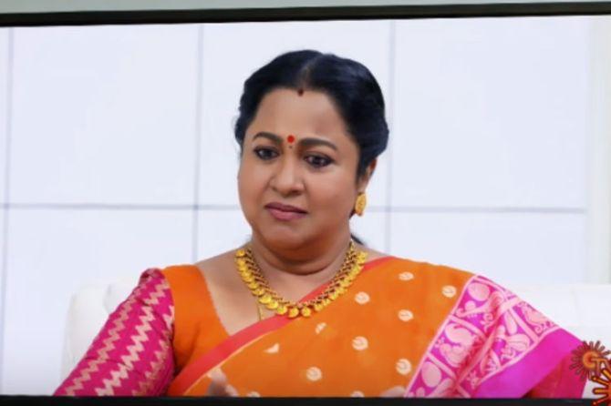 Chithi 2 serial, radhika sarathkumar, coronavirus lockdown, serial re telecast, sun tv