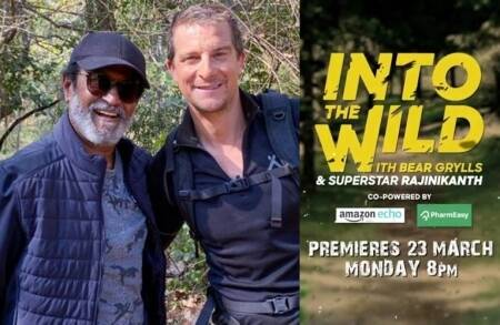 Rajinikanth Debut television show into the wild