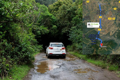 Google maps led karnataka family to struck