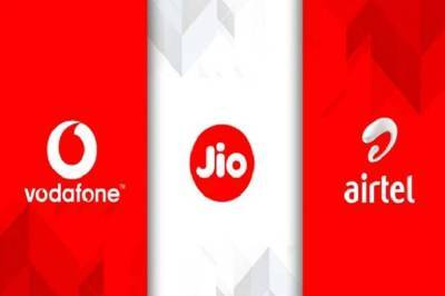 Jio Airtel Vodafone Best monthly prepaid recharge plans