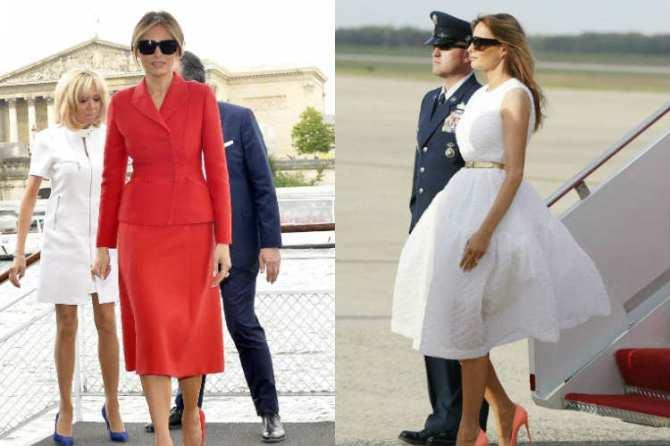 Melania Trump Visit to India