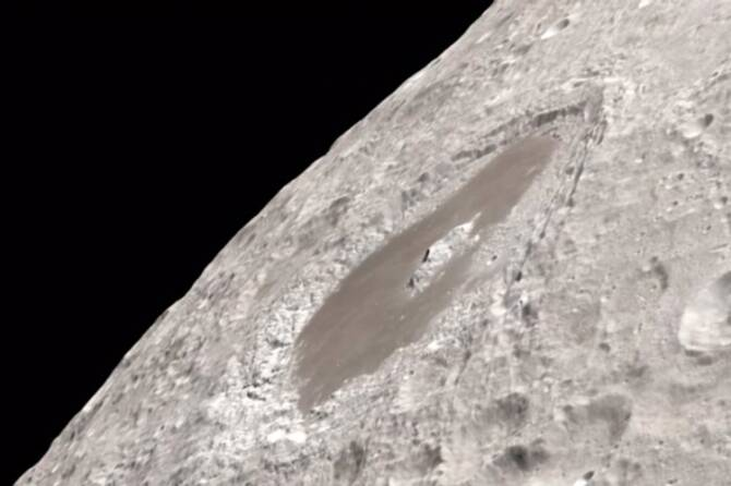 how the Moon looks in 4K resolutions