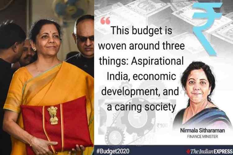 union budget 2020, india budget 2020, மத்திய பட்ஜெட் 2020, நிதியமைச்சர் நிர்மலா சீதாராமன், முக்கிய அறிவிப்புகள், india union budget 2020, modi government budget 2020, nirmala sitharaman budget 2020, Tamil indian express, FM Nirmala Sitharaman Key announcements