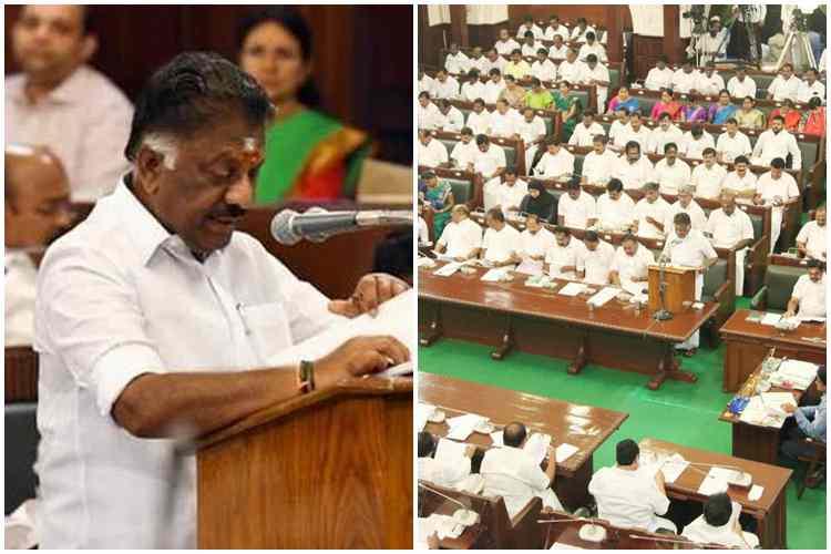 tamilnadu budget 2020 department wise fund allocation, தமிழ்நாடு பட்ஜெட் 2020, தமிழக அரசு பட்ஜெட் 2020, budget 2020, tamilnadu budget 2020, ஓ பன்னீர் செல்வம், பட்ஜெட் தாக்கல், நிதி ஒதுக்கீடு, ops, department wise fund allocation