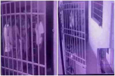 woman police inspector brutal attack cctv video, woman police inspector attack cctv video, பெண் காவல் ஆய்வாளர் மீது கொடூர தாக்குதல், சிசிடிவி வீடியோ, காஞ்சிபுரம் மதுவிலக்கு பெண் காவல் ஆய்வாளர் மீது தாக்குதல் சிசிடிவி வீடியோ, kanchipuram woman inspector attack, lady inspector attack video, woman inspector attacked, retired police officer son attack woman inspector