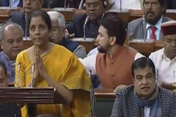 budget 2020 nirmala sitharaman highlighted thirukkurai and Aathichoodi