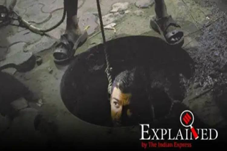 manual scavengers 376 died cleaning sewers