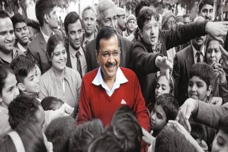 delhi election results aap bjp arvind kejriwal
