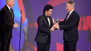 sachin won laureus awards messi
