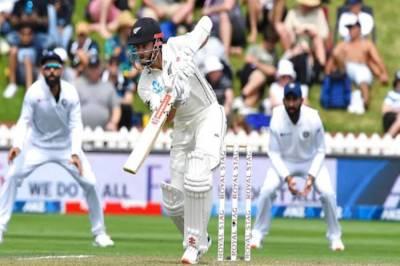 ind vs nz 1st test day 2 highlights