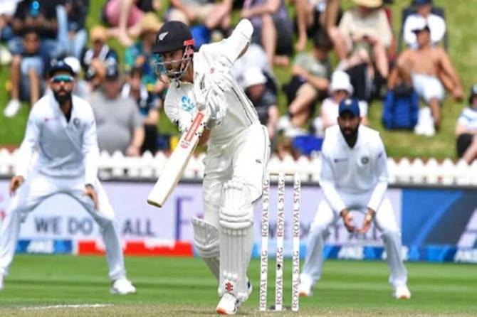 ind vs nz 1st test day 2 highlights