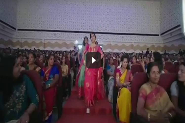 mambattiyan marriage entry video - சிம்புவின் குத்து பாடலுடன் மணமேடைக்கு என்ட்ரி கொடுத்து மணப்பெண் - வைரல் வீடியோ viral video
