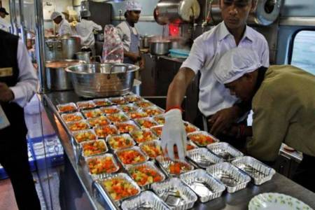 Indian railways catering service irctc