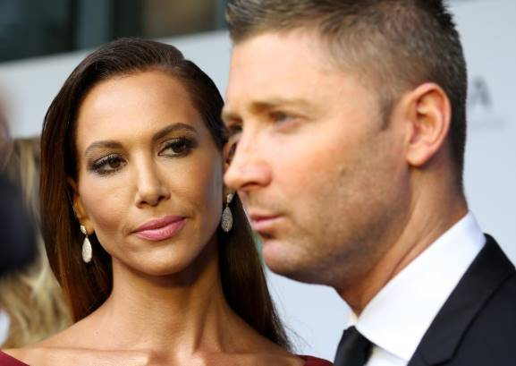 michael clarke and wife kyly confirm divorce