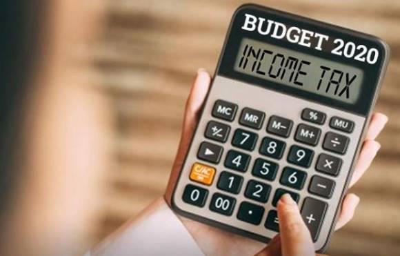 Income tax e-calculator