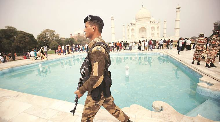 United States President Donald Trump India Visit, Agra, Taj Mahal