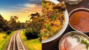 IRCTC Erode railway station serves hot tasty veg non veg foods