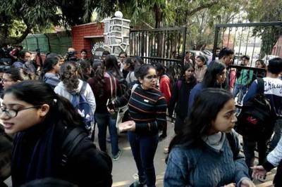 Jamia JNU Violence Gargi College violence
