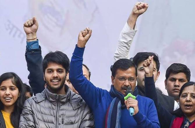 Arvind Kejriwal swearing-in ceremony, Delhi CM oath taking ceremony