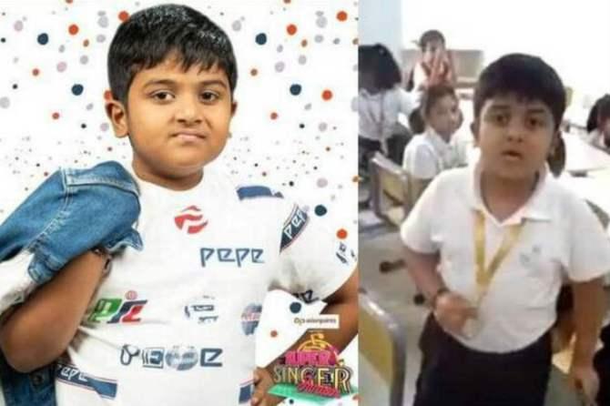 krishaang, Vijay TV super singer junior