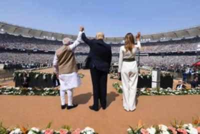 புதிய வரலாறு உருவாக்கம்: 'நமஸ்தே ட்ரம்ப்' நிகழ்வில் மோடி பெருமிதம்