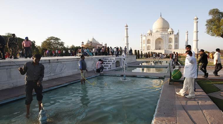 United States President Donald Trump India Visit, Agra