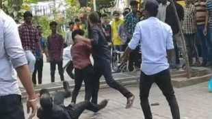 chennai, students clash, srm university, srm college students fight, srm college students clash, srm college latest news, srm college fights
