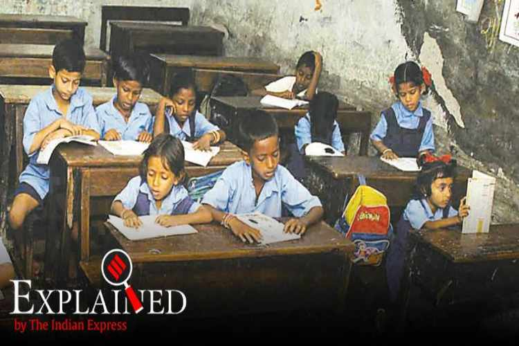 dropout rate in schools in india, india education, india school dropout rate, assam schools, assam school dropouts, dropout rate india schools, indian express explained,