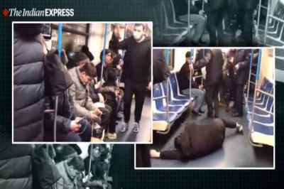 coronavirus, man faces 5 years jail after coronavirus prank on metro, coronavirus metro prank viral video, indian express, indian express news