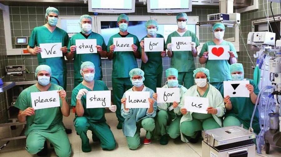 Coronavirus outbreak doctors around the world treating pandemic photo gallery