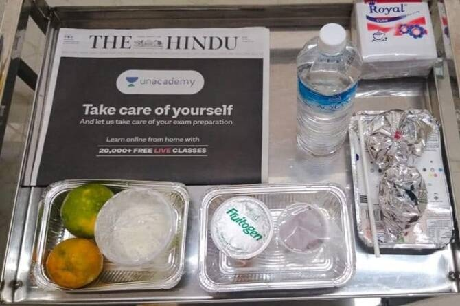 Corona outbreak Kerala government provides healthy foods to COVID19 patients