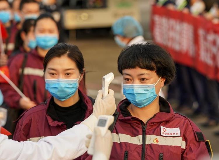 coronavirus outbreak China's Wuhan recovering very fast