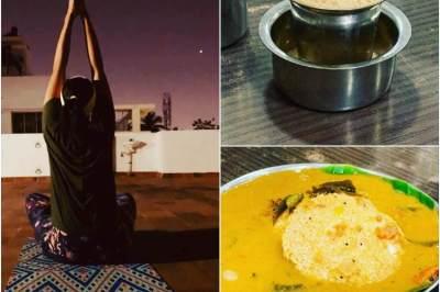 'இந்த நடிகை இன்னிக்கு சீக்கிரம் எழுந்துட்டாங்களாம்': புகைப்படத் தொகுப்பு