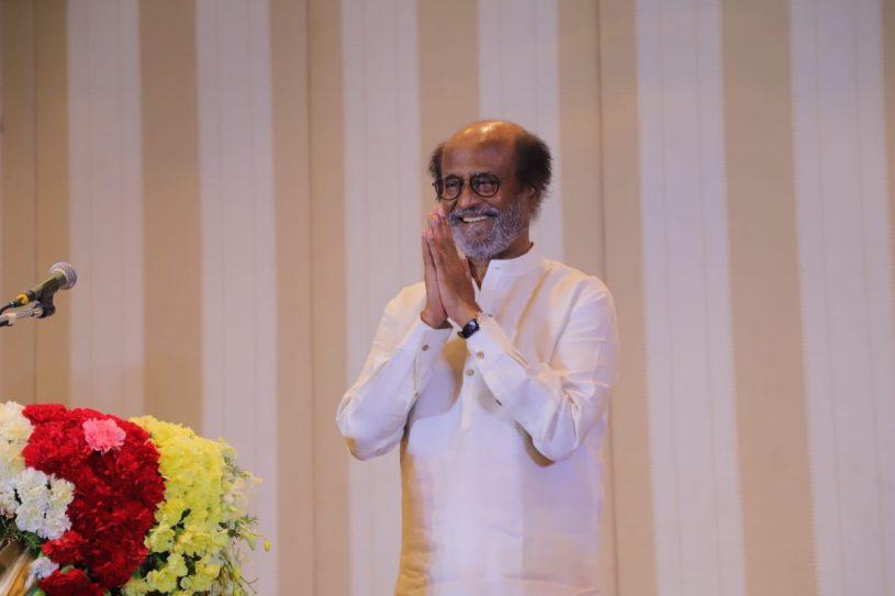 Rajinikanth thanked journalists, fans, RMM members