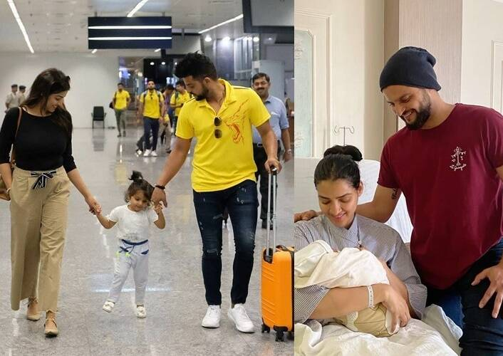 Indian Cricketer Suresh raina welcomes his son Rio Raina with heart touching message