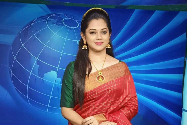 Sun TV news Reader Anitha Sampath