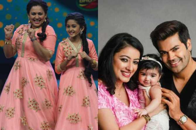 TV Anchors with their Kids