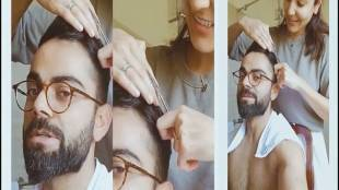 Virat Kohli Anushka Sharma Haircut