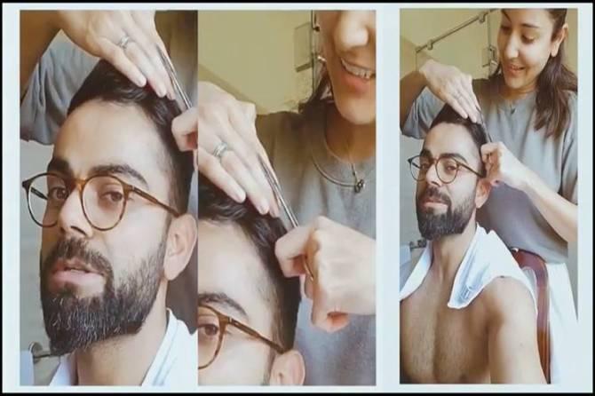 Virat Kohli Anushka Sharma Haircut